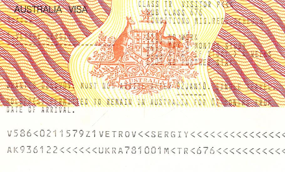 Виза в австралию самостоятельно 2016 пошаговая инструкция
