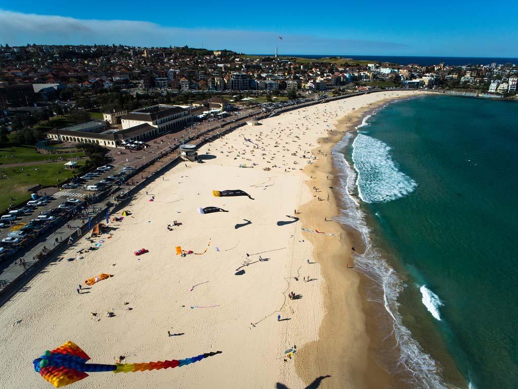 Bondi Beach Сидней. Достопримечательности.