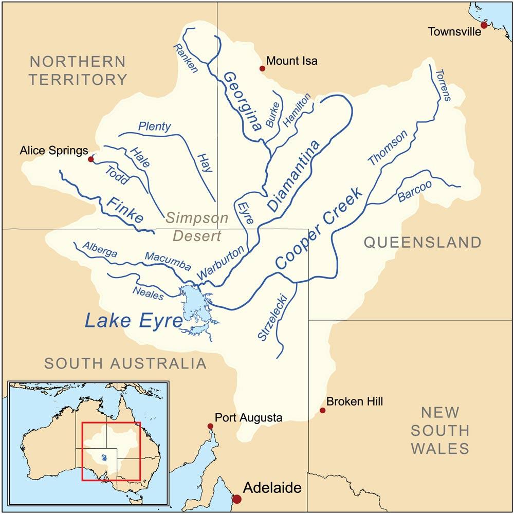 Lake_eyre_реки-австралии