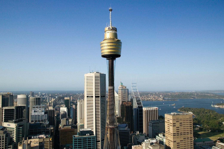 Sidnejskaya-telebashnya Сидней. Достопримечательности.