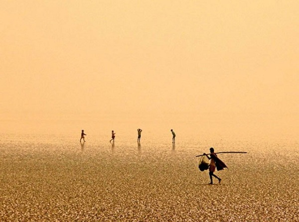 Chandipur Beach, Индия