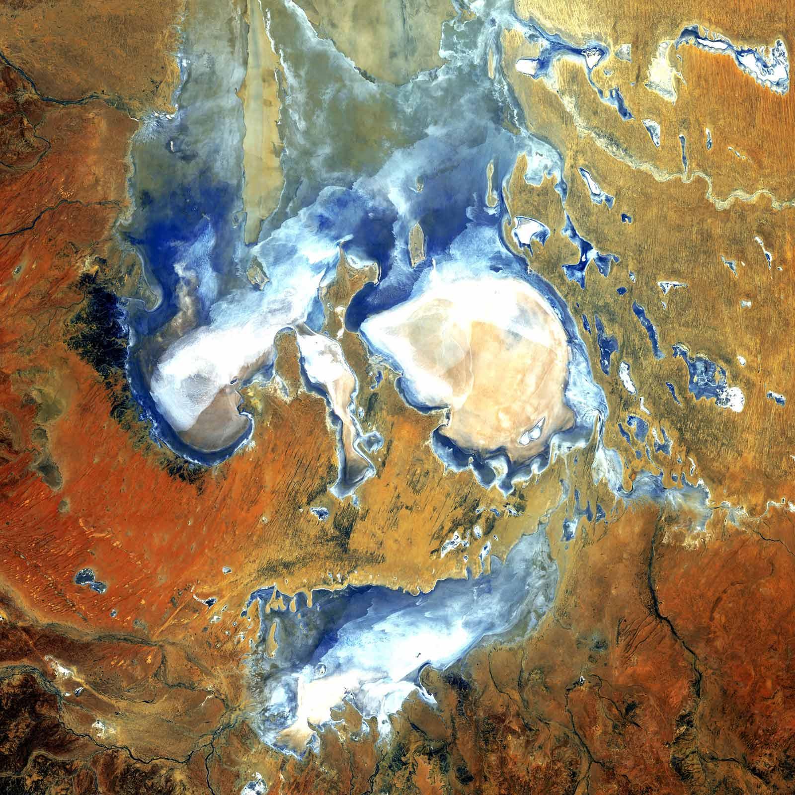 эйр Водоемы Австралии