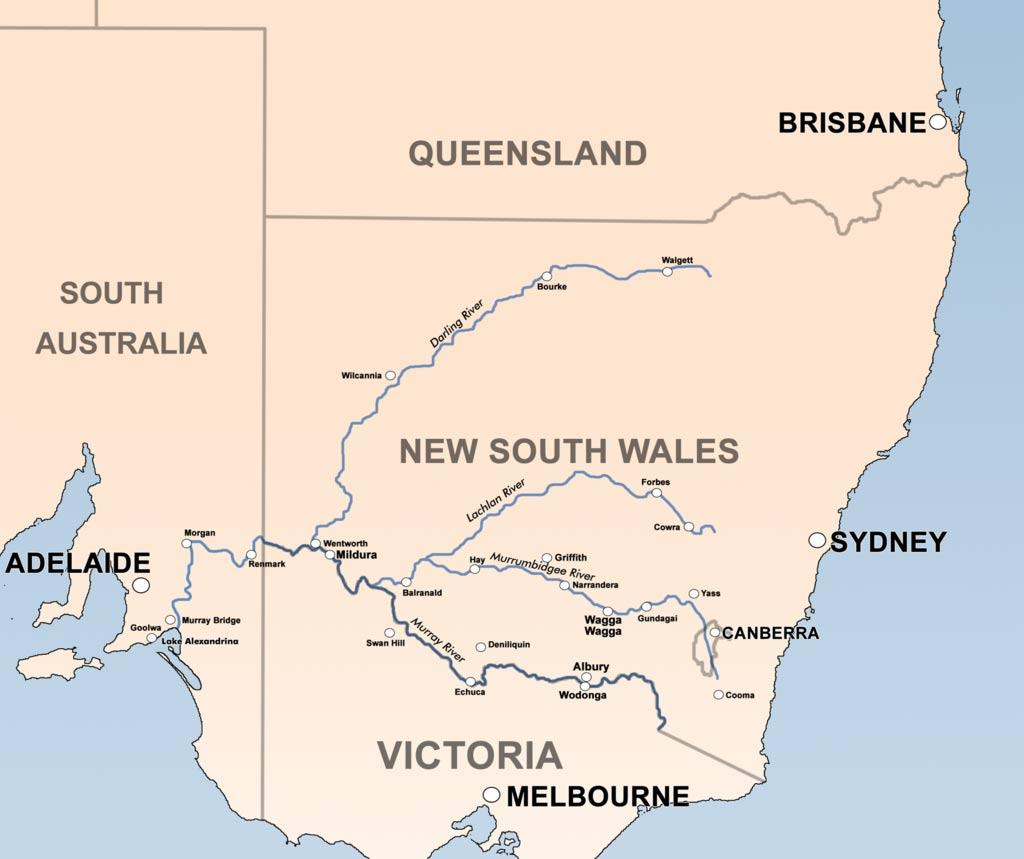 реки-австралии