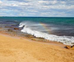 как добраться +до золотого пляжа +в феодосии
