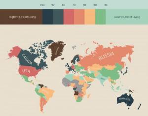 страны по уровню жизни