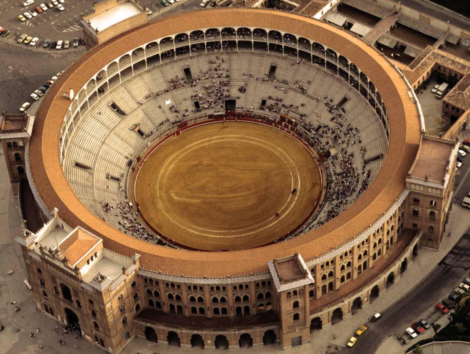 Арена-Лас-Вентас-Plaza-de-Toros,-Ventas