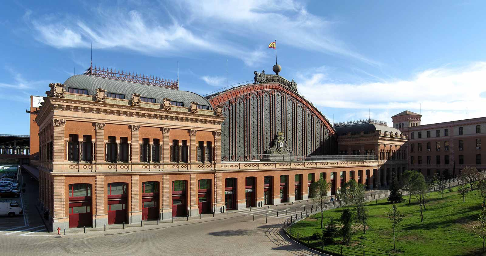 Atocha Вокзалы Испании Мадрид