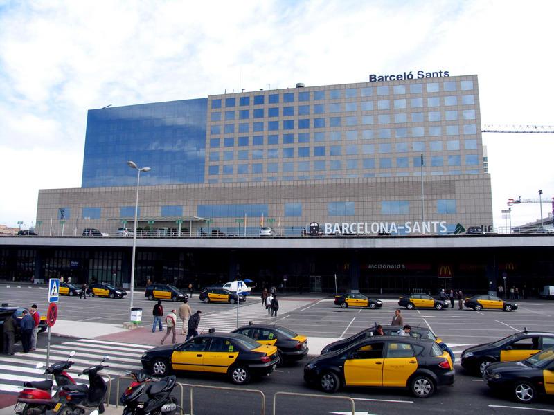Fachada_estación_de_Sants Барселона Вокзал