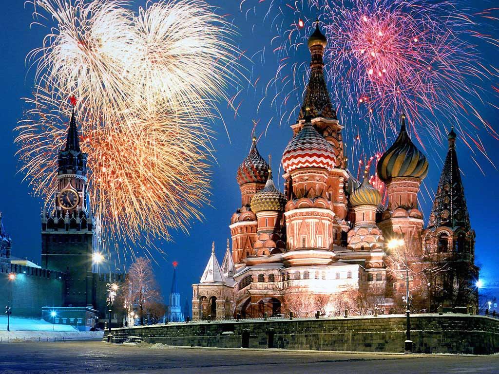 Kremlevskaya-elka куда поехать на новый год в России