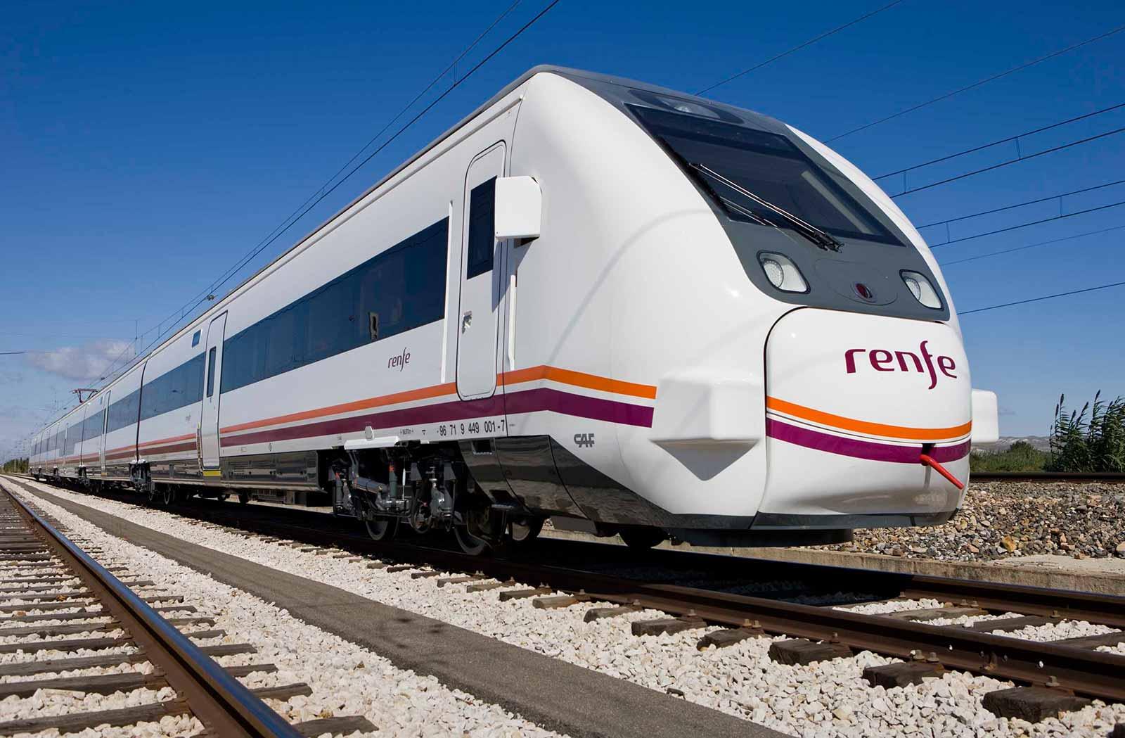 RENFE Железная дорога Испании
