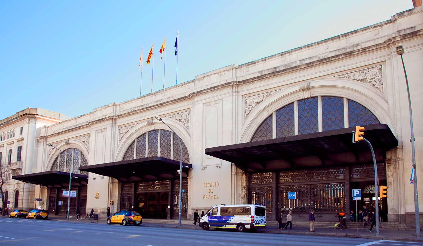 est-francia-Барселона Вокзал