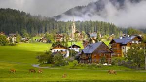 Куда поехать отдыхать осенью: Гальштат, Австрия, Европа