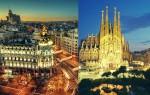 Как добраться из Мадрида в Барселону и обратно