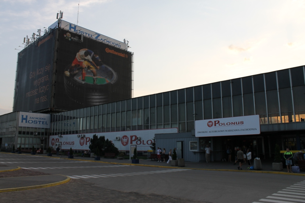Автовокзал Варшавы