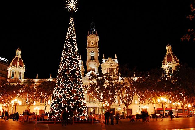 Рождество в Валенсии Испания