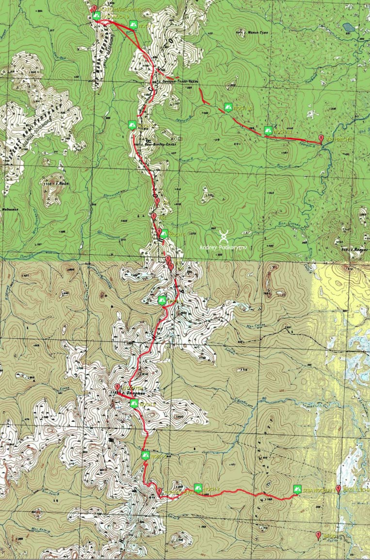 Маньпупунер-маршрут