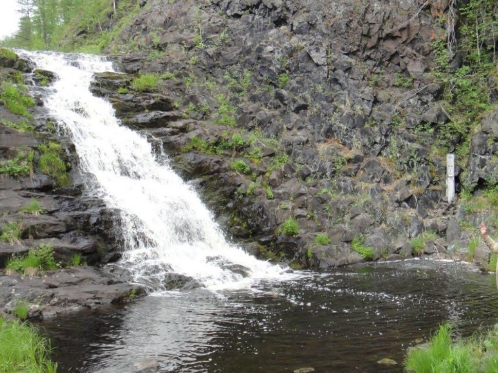 Чургимский водопад