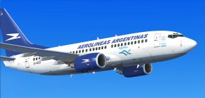 Авиакомпания Aerolineas Argentinas. Аргентина