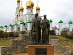 Памятник Петру и Февронии. Достопримечательности Абакана