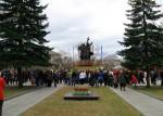 Памятник воинам погибшим в ВОВ. Абакан