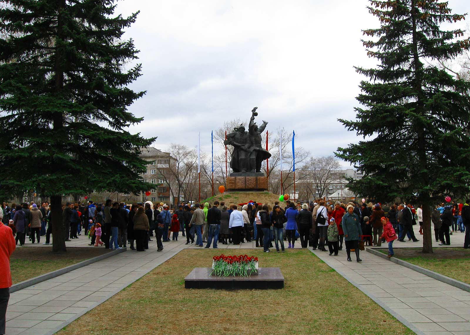 Памятник--ВОВ-абакан