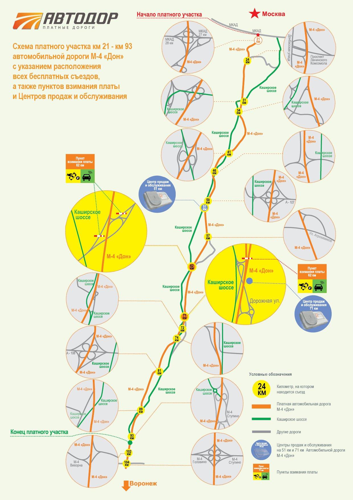 Участок 21 -93 км М-4