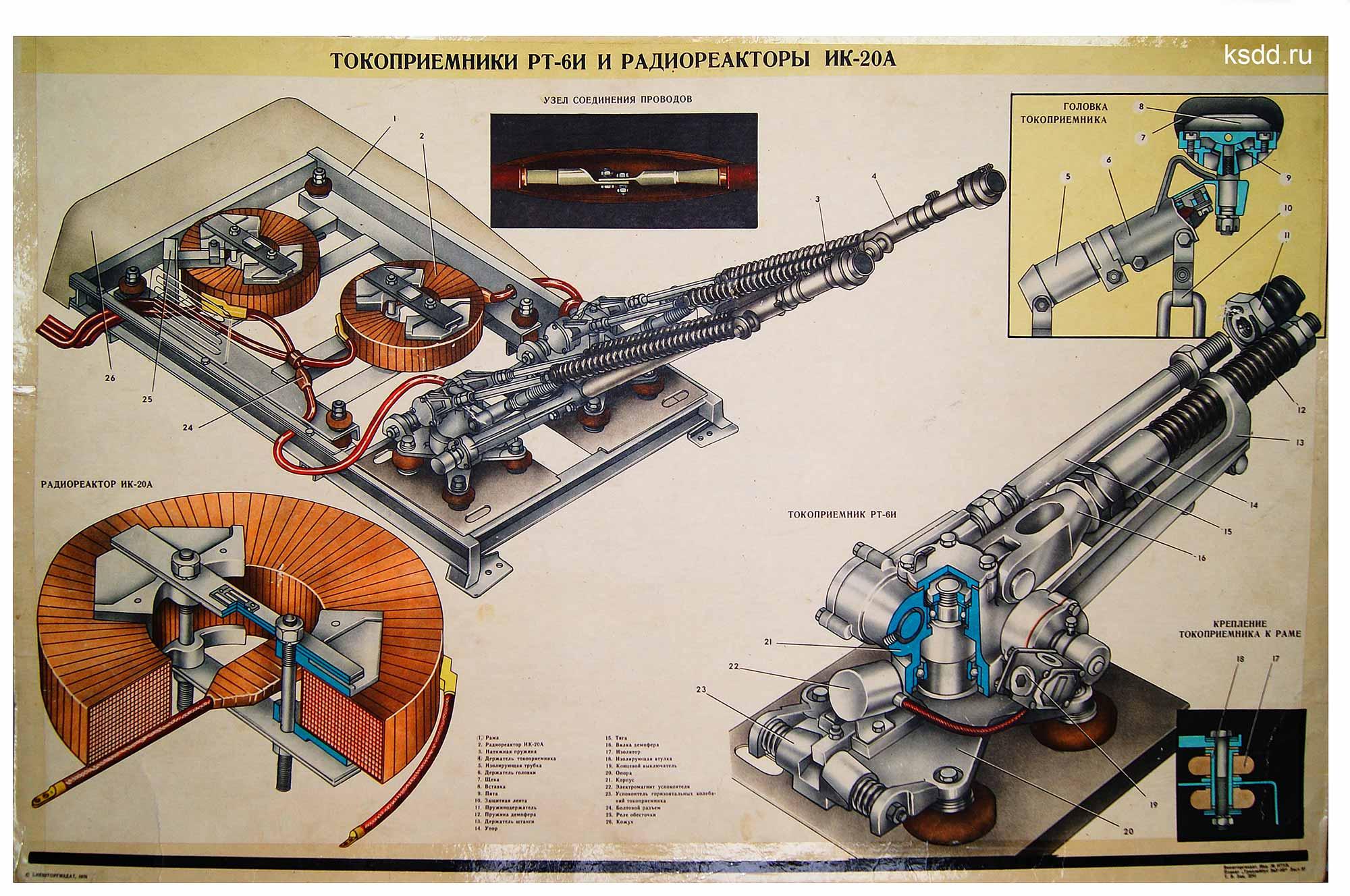 24.-Токоприемники-РТ-6И-и-Радиореакторы-ИК-20А