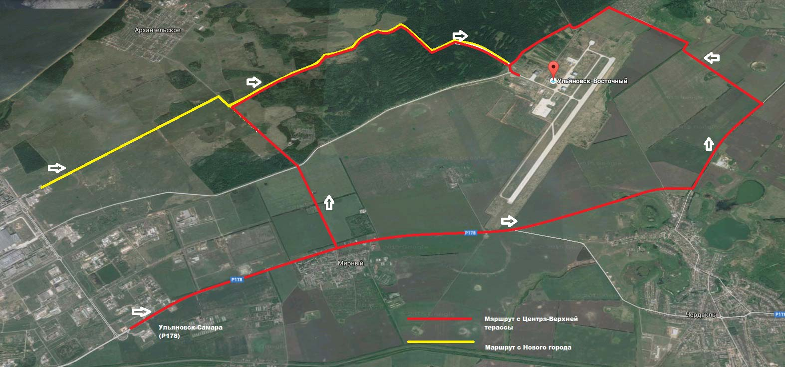 Аэропорт Ульяновск Восточный (Ulyanovsk ...: kakdobratsyado.ru/country/rf/aeroports-rf/aeroport-ulyanovsk...