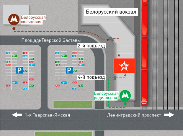 Belorussky-Шереметьево