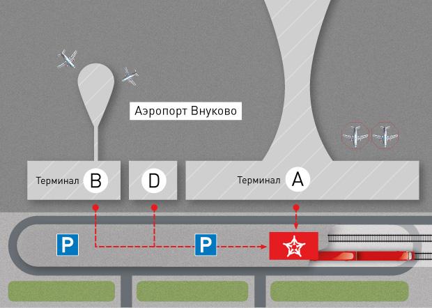 Аэроэкспресс внуково схема