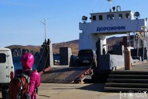 Байкал паромная переправа Сахюрта -о.Ольхон