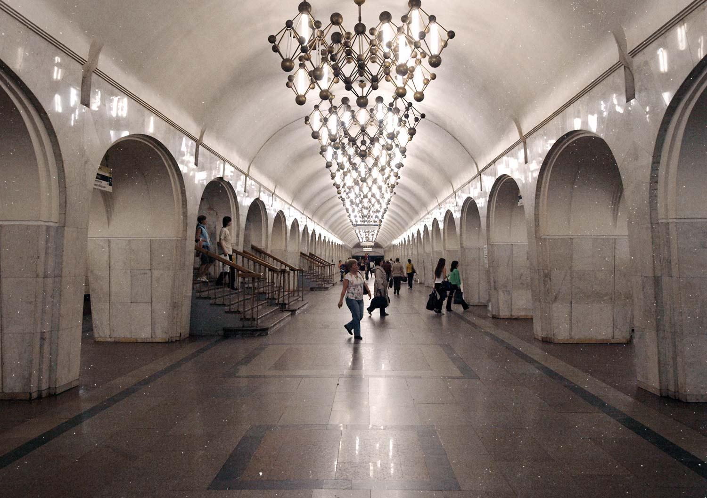 Метро-Менделеевская-фотографии