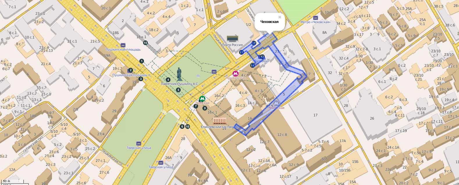 Схема-переходов-станции-метро-Чеховская
