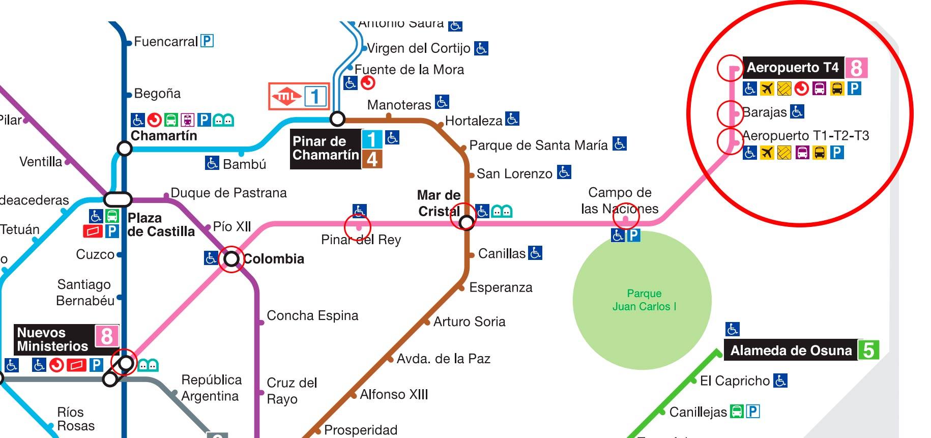 Как-добраться-до-аэропорта-Мадрида-метро