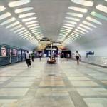 Cтанция метро Нахимовский Проспект. Метро Москвы