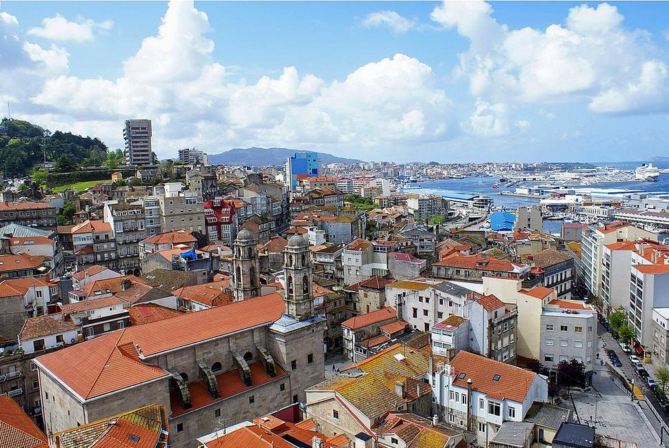 Город Виго Испания