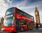 """Лондонские автобусы будут """"зелеными"""" к 2018 году."""