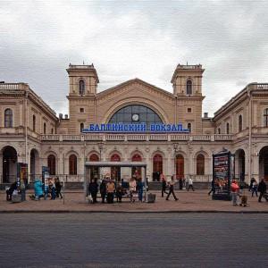 Балтийский вокзал. Санкт-Петербург. Расписание.