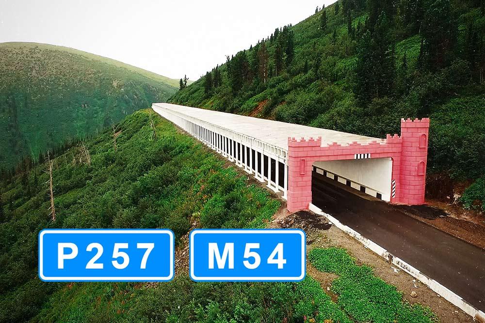 """Трасса Р257 (М-54) """"Енисей"""""""