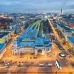 Витебский вокзал. Санкт-Петербург. Расписание