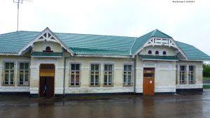 Калманка ЖД Вокзал