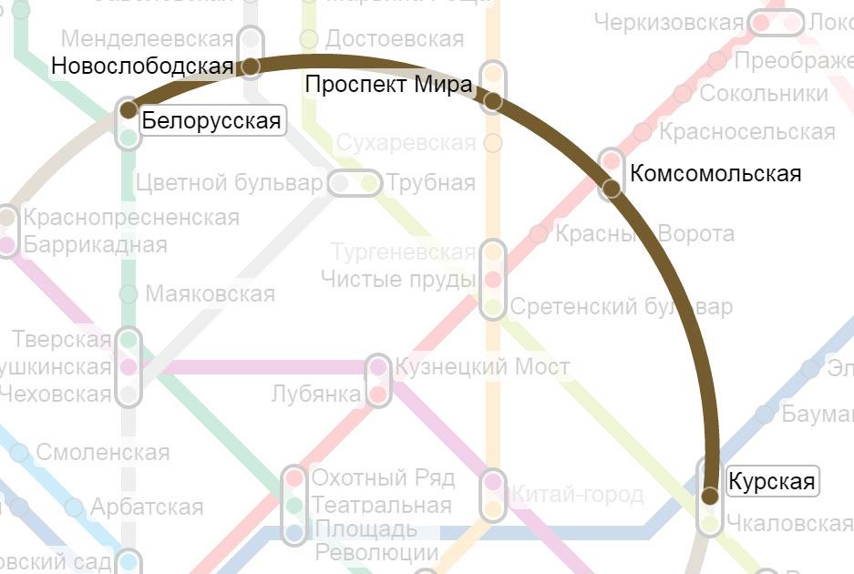 белорусский вокзал Курский вокзал