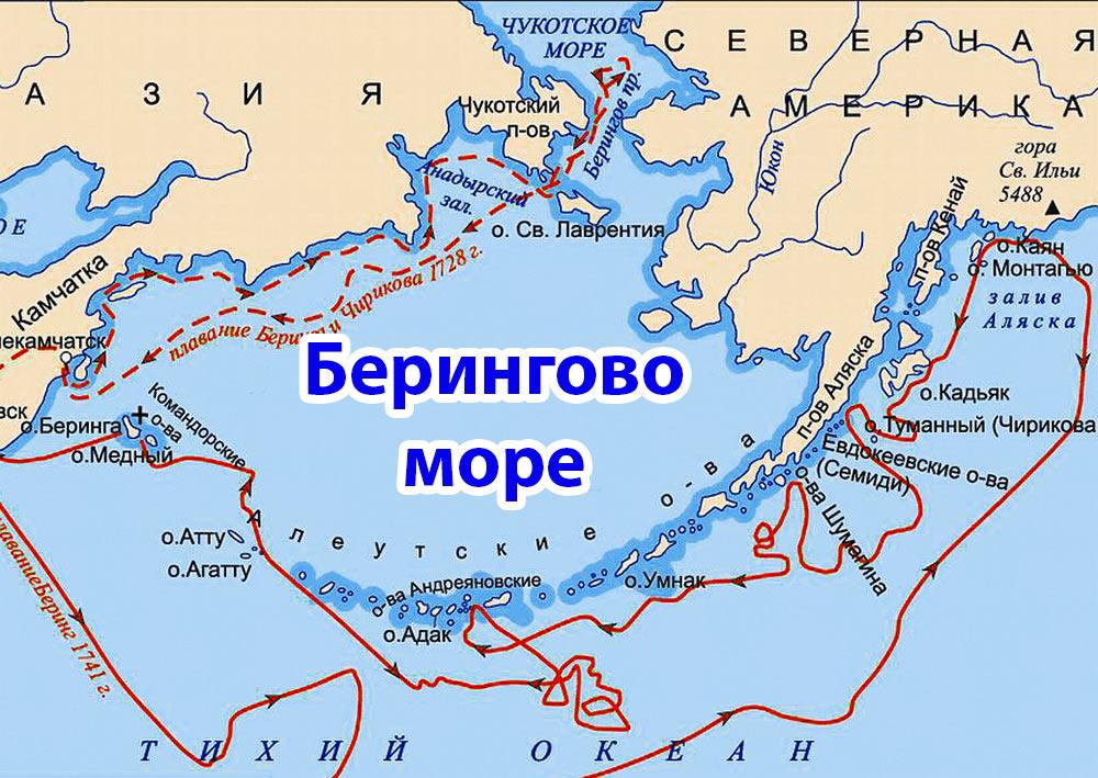 Берингово море - это... Что такое Берингово море?