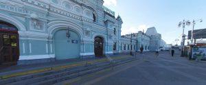 Рижский ЖД Вокзал, Москва