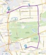 Новый автобусный маршрут общественного транспорта Москвы № 449